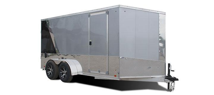 2019 Cargo Express Pro Series Aluminum Motorcycle Trailer