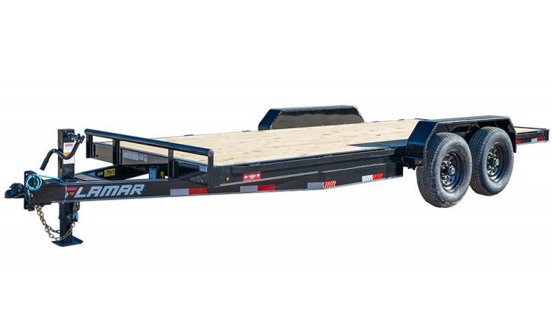 2021 Lamar Trailers 83x14 H628 Equipment Trailer