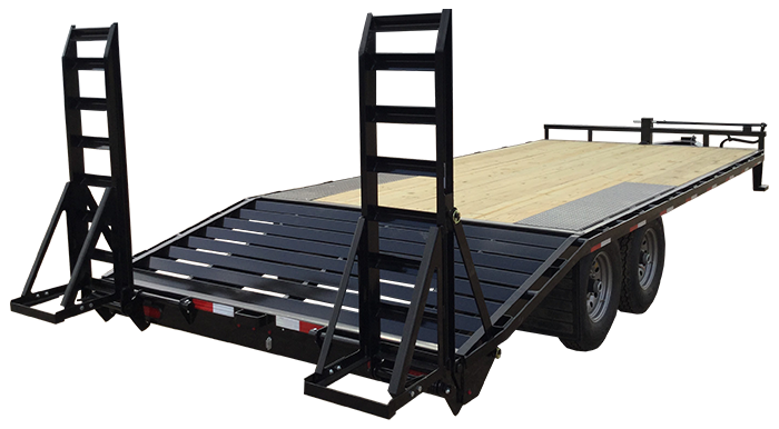 "2018 Lamar Trailers 8"" Deck-Over Flatbed (F8)"