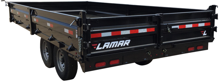 2019 Lamar Trailers Deck-Over Dump Trailer (DO)