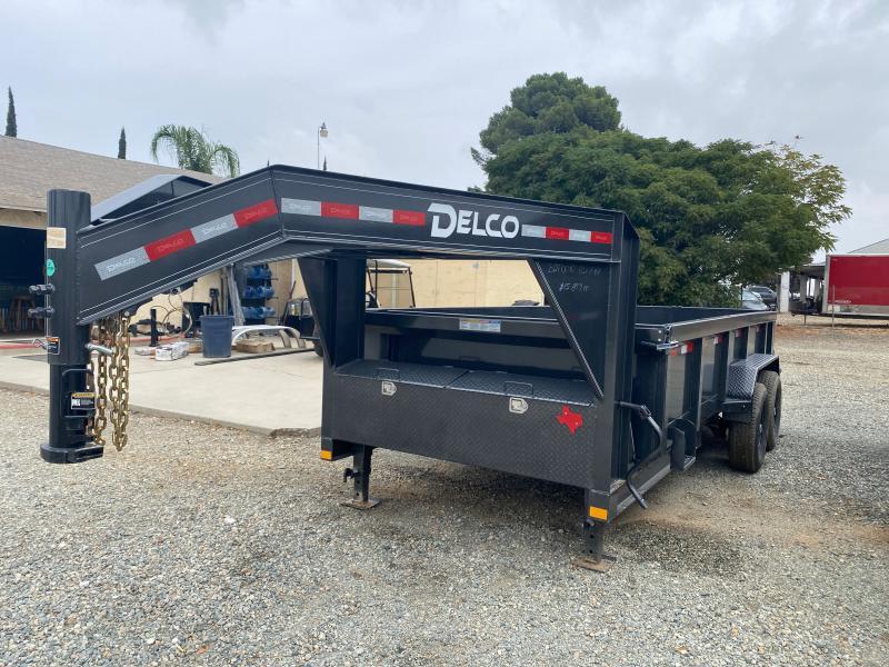 2021 Delco Trailers GOOSENECK DUMP Dump Trailer