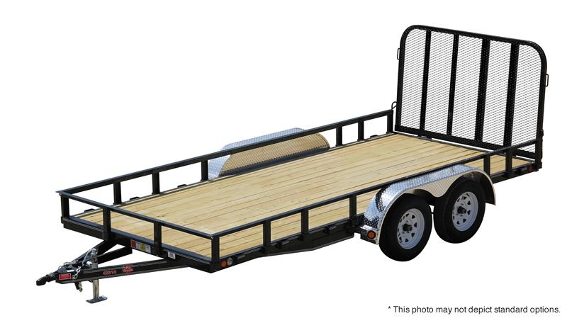 "2021 PJ Trailers 12' x 83"" Channel Utility Trailer"