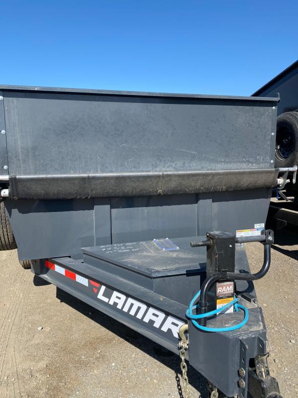 2022 Lamar Trailers 83x14 DL27 Dump Trailer