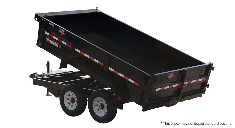 "2021 PJ Trailers 10' x 83"" Tandem Axle Dump Trailer"