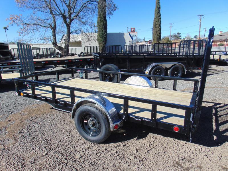 2021 PJ Trailers 72X12 Single Axle Utility Trailer