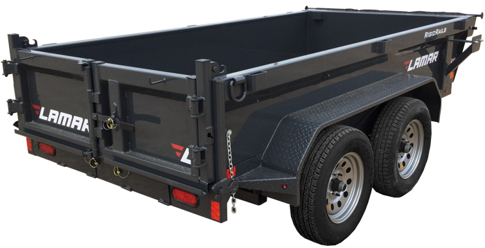 2021 Lamar Trailers Mini Dump Trailer (DS)