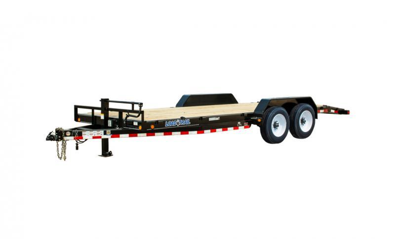 """2022 Load Trail CH16 - Carhauler 16000 Lb w/8"""" Channel Frame Car / Racing Trailer"""