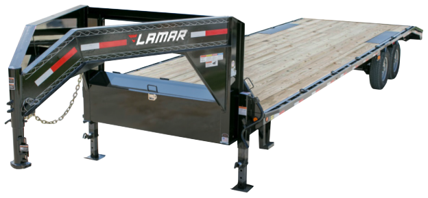 2020 Lamar Trailers Heavy Duty Deck-Over Flatbed (FS)