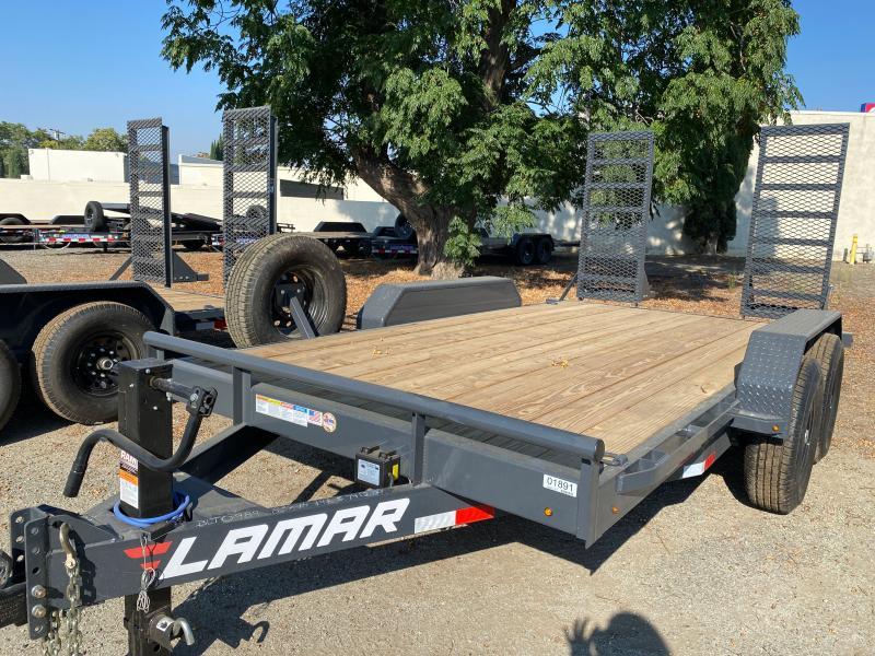 2022 Lamar Trailers 83x14 H627 Equipment Trailer