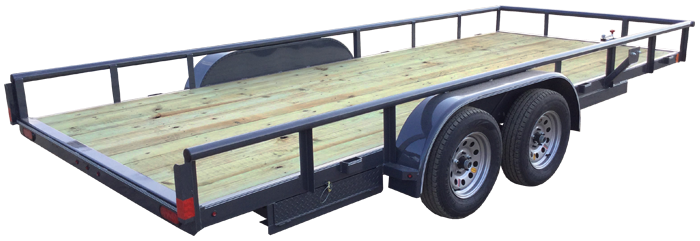 2021 Lamar Trailers Commercial Utility Trailer (UC)