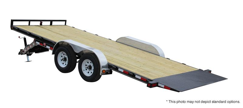 "2021 PJ Trailers 20' x 83"" Hydraulic Quick Tilt Trailer"