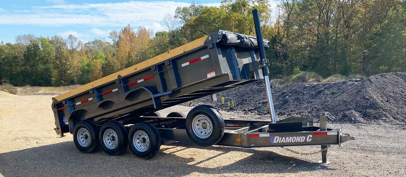2021 Diamond C Trailers LPT Dump Trailer