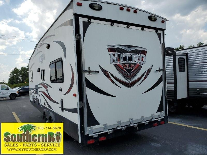 2014 Forest River XLR Nitro 21FQST Toy Hauler RV