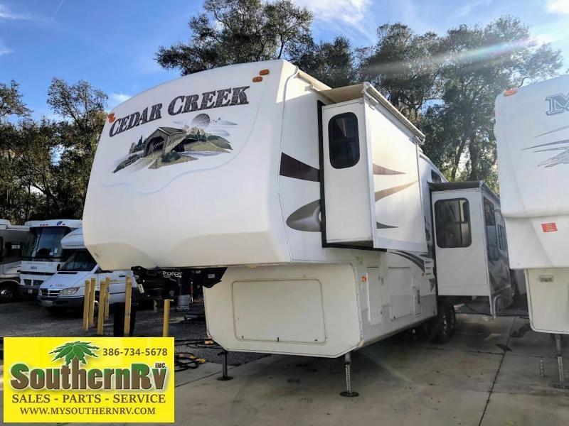 2009 !!!SOLD!!!!  Forest River Cedar Creek 34TSA Fifth Wheel Campers RV