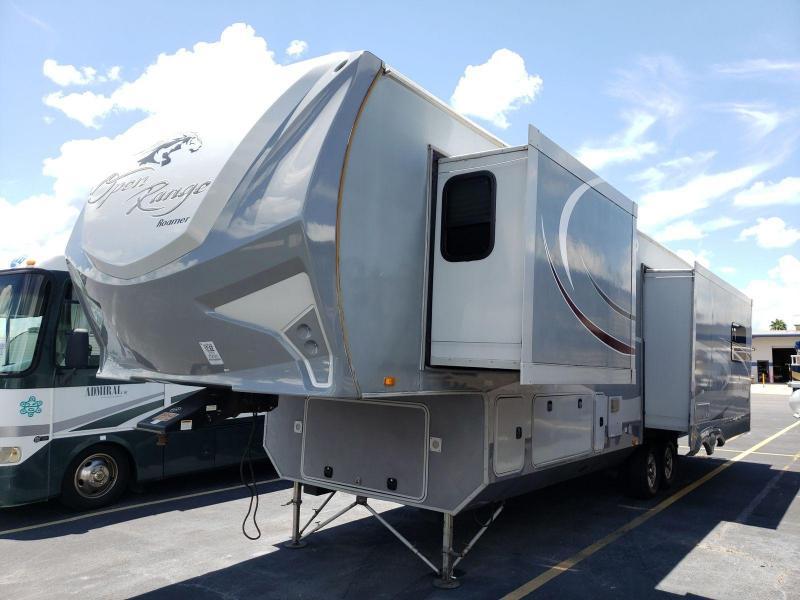 2015 Open Range Roamer 347RES Fifth Wheel Campers RV