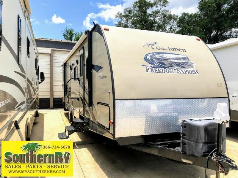2014 Coachmen By Forest River Freedom Express 282 BHDS BUNKHOUSE Travel Trailer RV