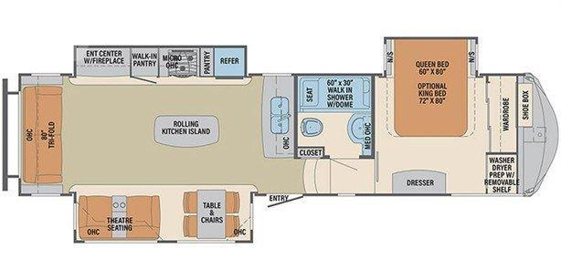 2016 Forest River Palomino Columbus Compass 320RSC Fifth Wheel Campers RV
