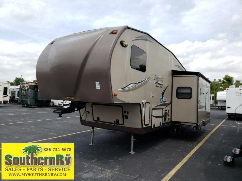2014 Forest River Flagstaff Classic Super Lite 8528RKWS Fifth Wheel Campers RV