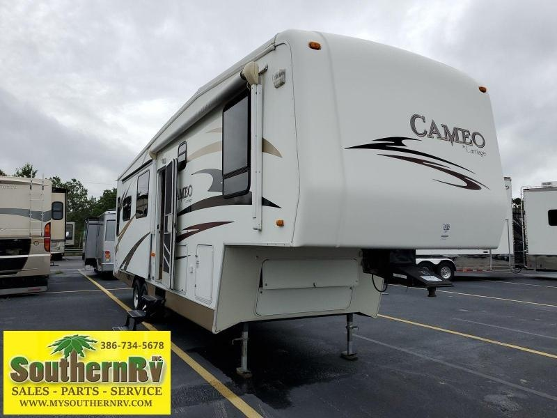 2007 Carriage Inc. Cameo 33CKQ Fifth Wheel Campers RV