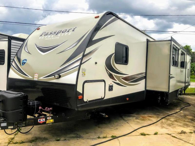 2018 !!!SOLD!!!  Keystone RV Passport Grand Touring 3350BH Travel Trailer RV