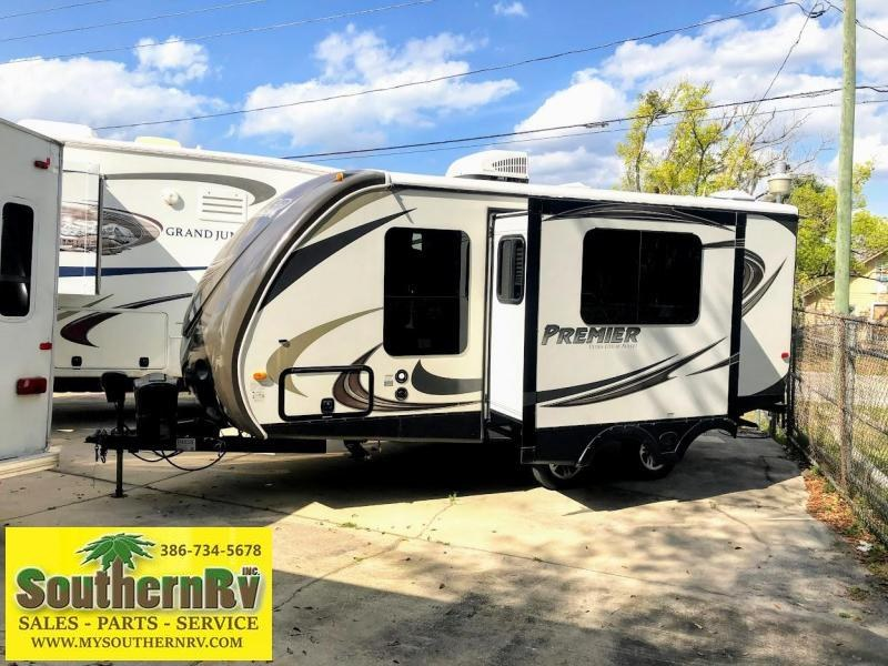 2014 Keystone RV Bullet Premier Ultra Lite 19FBPR Travel Trailer RV