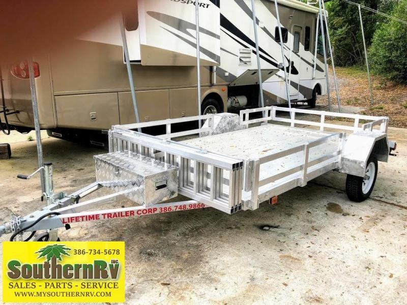 2021 Lifetime Trailers Toy Hauler Utility Trailer
