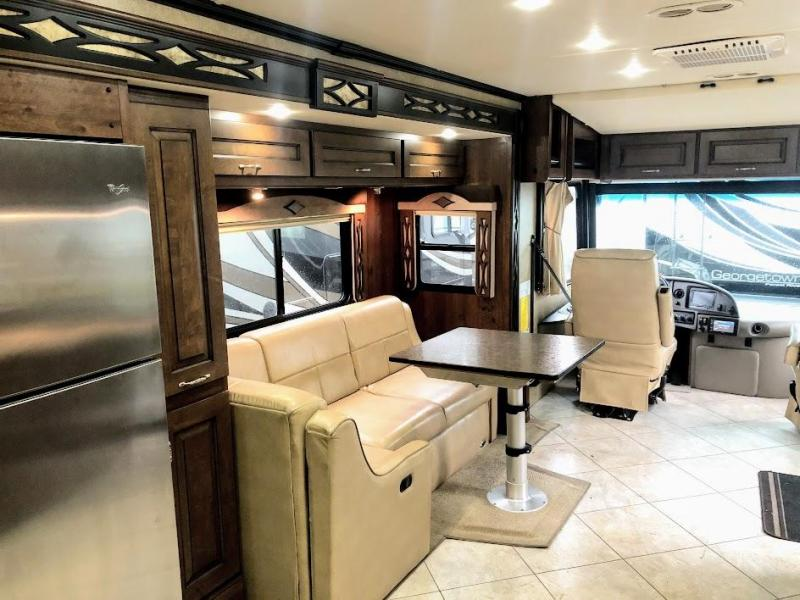 2013 Fleetwood Excursion 33A Class A RV with Bunk Over Cab