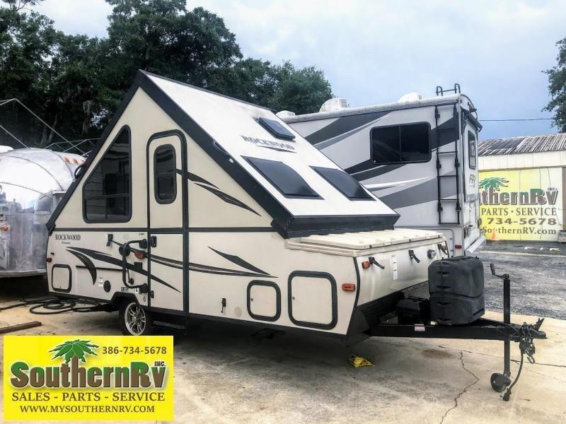 2016 Forest River Rockwood Premier A128S Travel Trailer RV