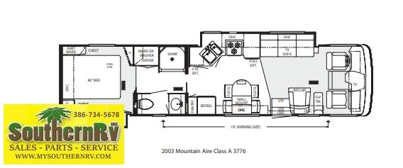 2003 Newmar Mountain Aire 3776 Class A RV