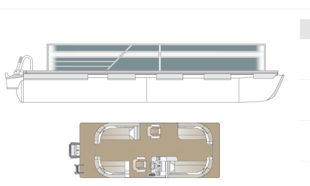 2022 Crest Classic LX 200 SLC Pontoon Boat
