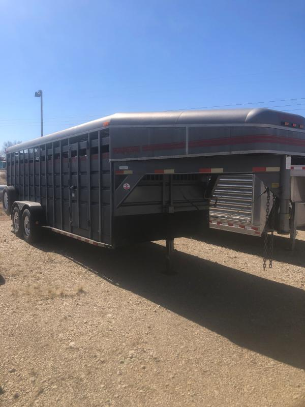 1998 Travalong Cattle Livestock Trailer