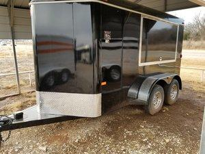 WW 6 x 12 Enclosed Cargo Trailer
