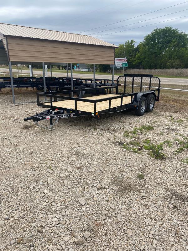 2021 East Texas 83x16 Utility Trailer