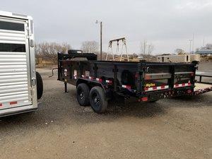Big Tex 14GX 8.5 x 16 Gooseneck Dump Trailer
