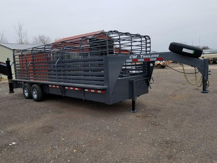 CM Brush Buster BT 6.8 x 24 Stock Trailer