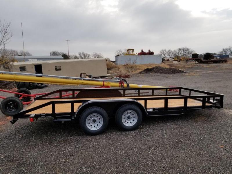 Texas Bragg LA 6.4 x 18 Utility Trailer