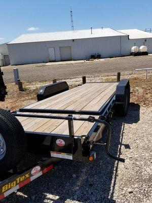 "Big Tex 14TL 83"" x 20' Equipment Trailer"