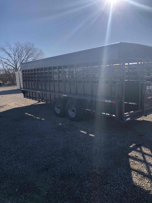 2021 Big Bend Metal Top Livestock Trailer