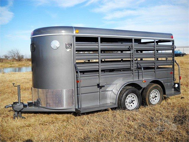 2021 W-W Trailer ALL AROUND Livestock Trailer
