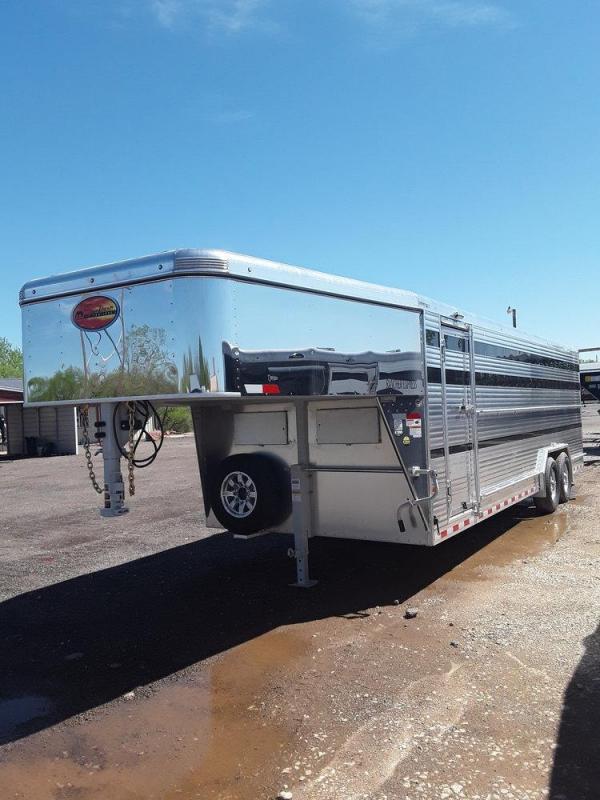 Sundowner Rancher Express 8 x 24 Livestock Trailer