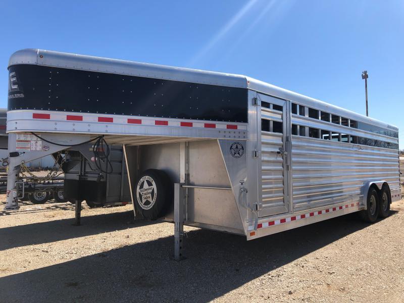 2019 Elite Trailers Cattle Livestock Trailer