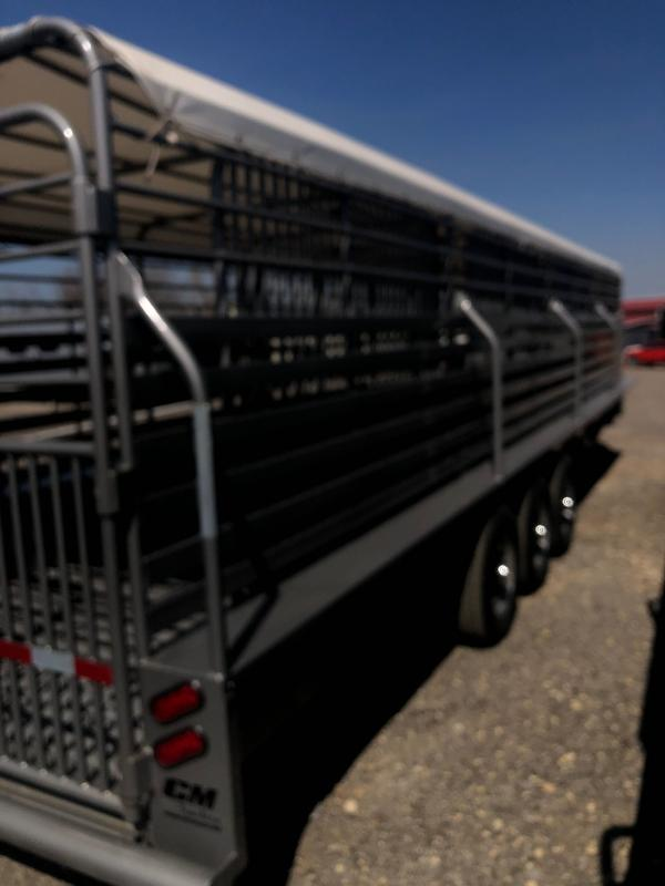 2020 CM Brush Buster Livestock Trailer