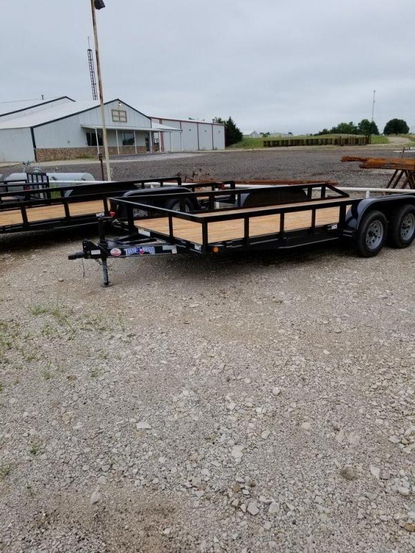 Texas Bragg HA 83 x 18 Utility Trailer
