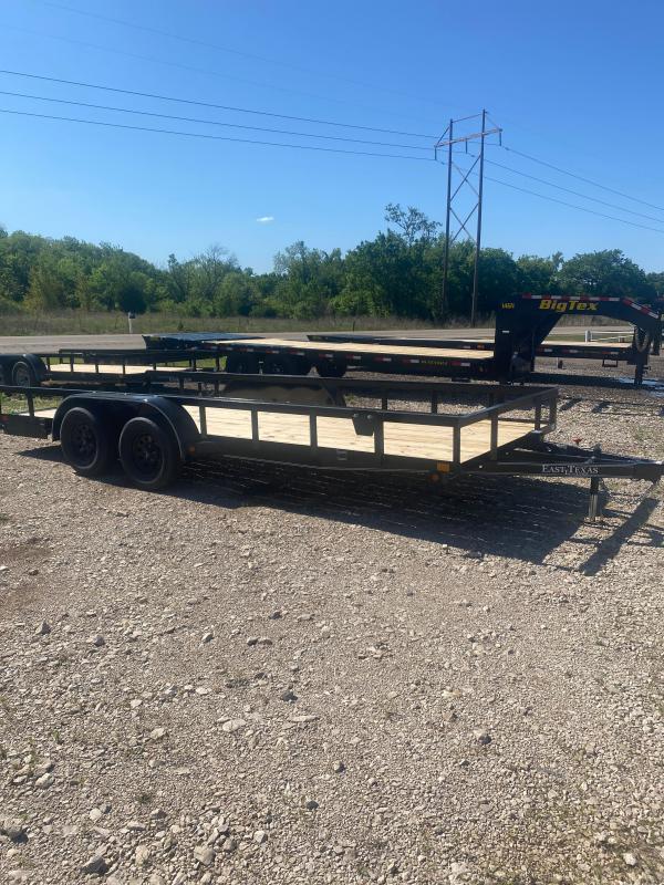 2021 East Texas 7K Utility Trailer