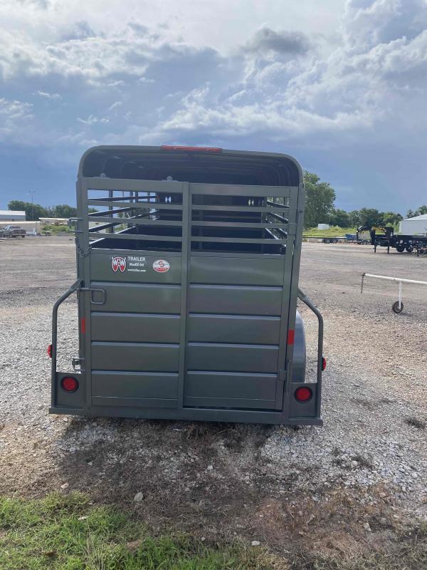 2021 W-W Trailer ALL AROUND Livestock Trailer