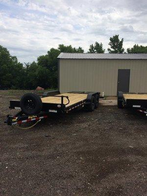 Big Tex 14ET 6.10 x 20 Equipment Trailer