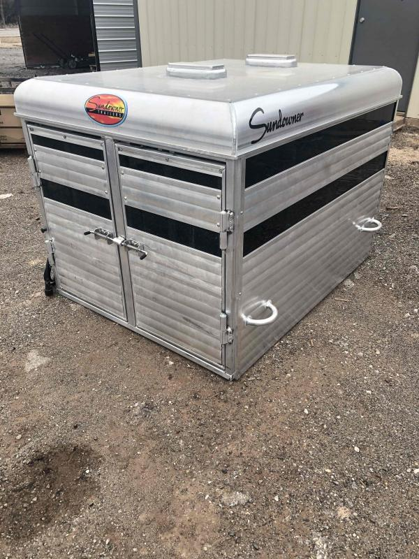 2021 Sundowner Trailers Stock Box Livestock Trailer