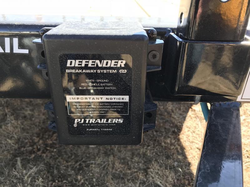 2018 PJ Trailers 82x20 Channel Equipment Tilt (TJ)