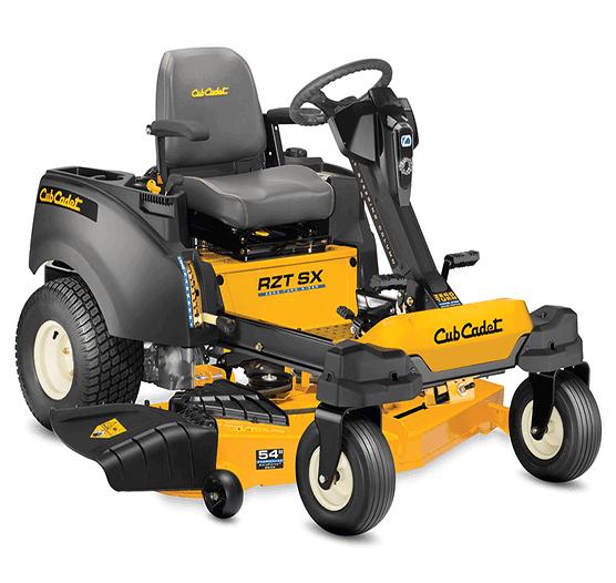 2021 Cub Cadet RZT® SX 54 Zero-Turn Riding Mower Lawn Equipment