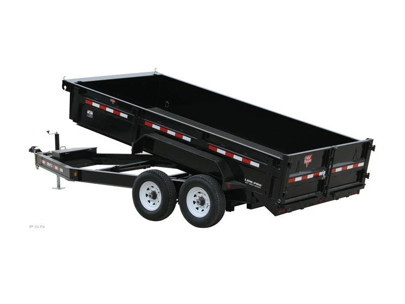 2020 PJ Trailers 14'x83 in. Low Pro Dump (DL) Dump Trailer